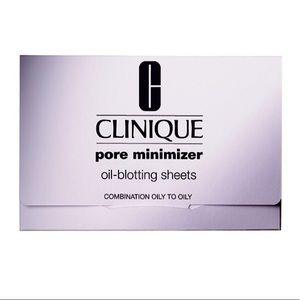 Clinique pore minimizer oil-blotting sheets 50